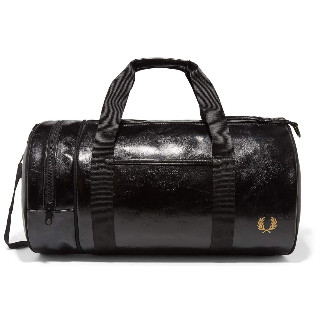 Fred Perry Classic Barrel Hombre Holdall Negro