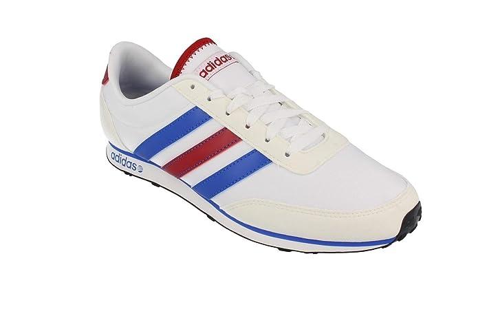 F97909 SPORTS SHOES ADIDAS RACER V WHITE 45 1 3 White: Amazon.ca: Shoes &  Handbags