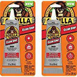 Gorilla 8040001-2 Clear Grip Contact Adhesive, 3 Oz., Clear (Pack of 2)