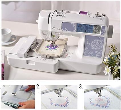 YEQIN - Juego de 3 aros de coser para máquina de bordar Brother ...