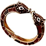 Angel Jewelry Women's Leopard Bangle Bracelet