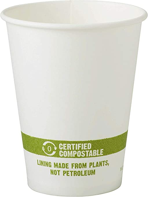 World Centrics 100% Biodegradable, 100% Compostable Paper PLA ...