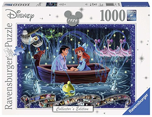 Ariel Puzzle - Ravensburger Disney Collector's Edition Little Mermaid 1000pc Jigsaw Puzzle