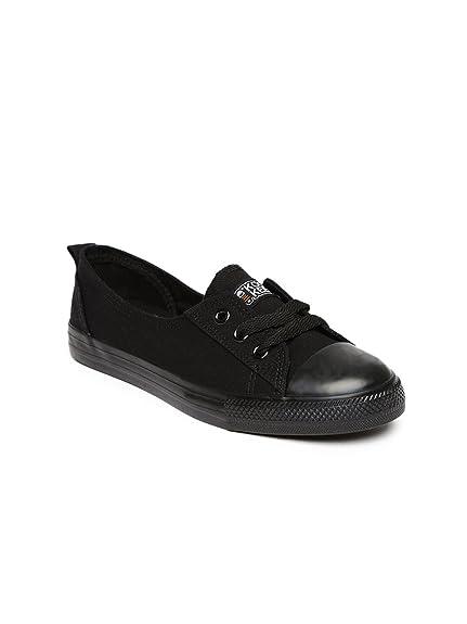 b9d34849406 Kook N Keech Women Black Casual Shoes (6UK)  Buy Online at Low ...