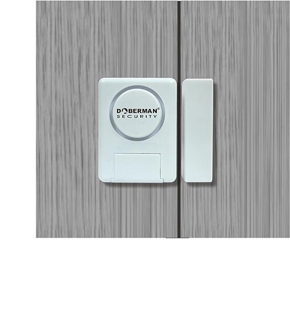 WER Doberman Alarma casa Alarma Hogar de Seguridad SE-0137 para Ventana/Puerta Kit de Alarma