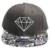 City Hunter Hats Diamond Snapback Cap