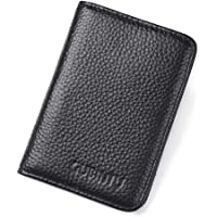 Men's RFID Genuine Leather Slim Wallet Credit Card Holder