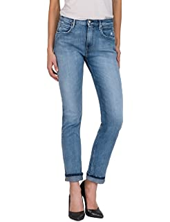 Replay Damen Jacksy Straight Jeans