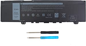 38WH 39DY5 F62G0 Battery for Dell Inspiron 13 7000 i7373 7373 7386 2-in-1 7370 7380 5370 P83G P87G P91G P83G001 P83G002 P87G001 Vostro 13 5370 039DY5 0F62G0 RPJC3 0RPJC3 F62GO -12 Month Warranty 11.4V
