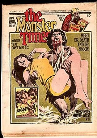THE MONSTER TIMES #19-1973-TARANTULA-EC COMICS-NIGHT OF BLOOD MONSTER-VG VG