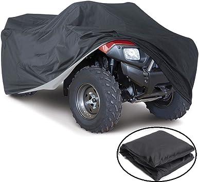 ATV Cover Waterproof Dust Dirt Scratch Rain Water Proof Universal XL Size