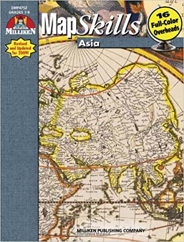 Map Of Asia For Students.Map Skills Asia R Scott House Patti M House 9781558631243