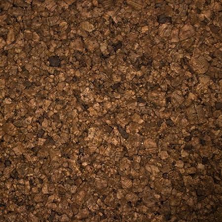 marr/ón Hoja de corcho apr 30 x 91 x 1,3 cm Kit con 2 piezas
