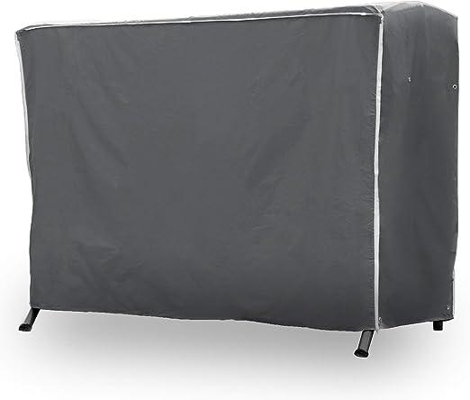 Purovi Premium Balancín Protectora | Funda | Tela Oxford 420D Balancín Hollywood Jardín | 210 x 150 x 150 cm | Resistente al Agua con 2 Cremalleras | Resistente a Rayos UV: Amazon.es: Hogar