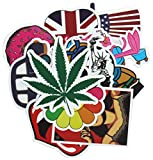 Diageng Random Styles Vinyl Stickers, 6 - 12cm (Pack of 100) offers