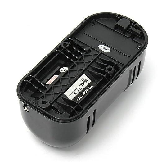 GuDoQi Detector IR de Seguridad de Doble Haz 100m Fotoeléctrico Alarma de Seguridad en el Hogar Detector de Infrarrojos Sensor: Amazon.es: Bricolaje y ...