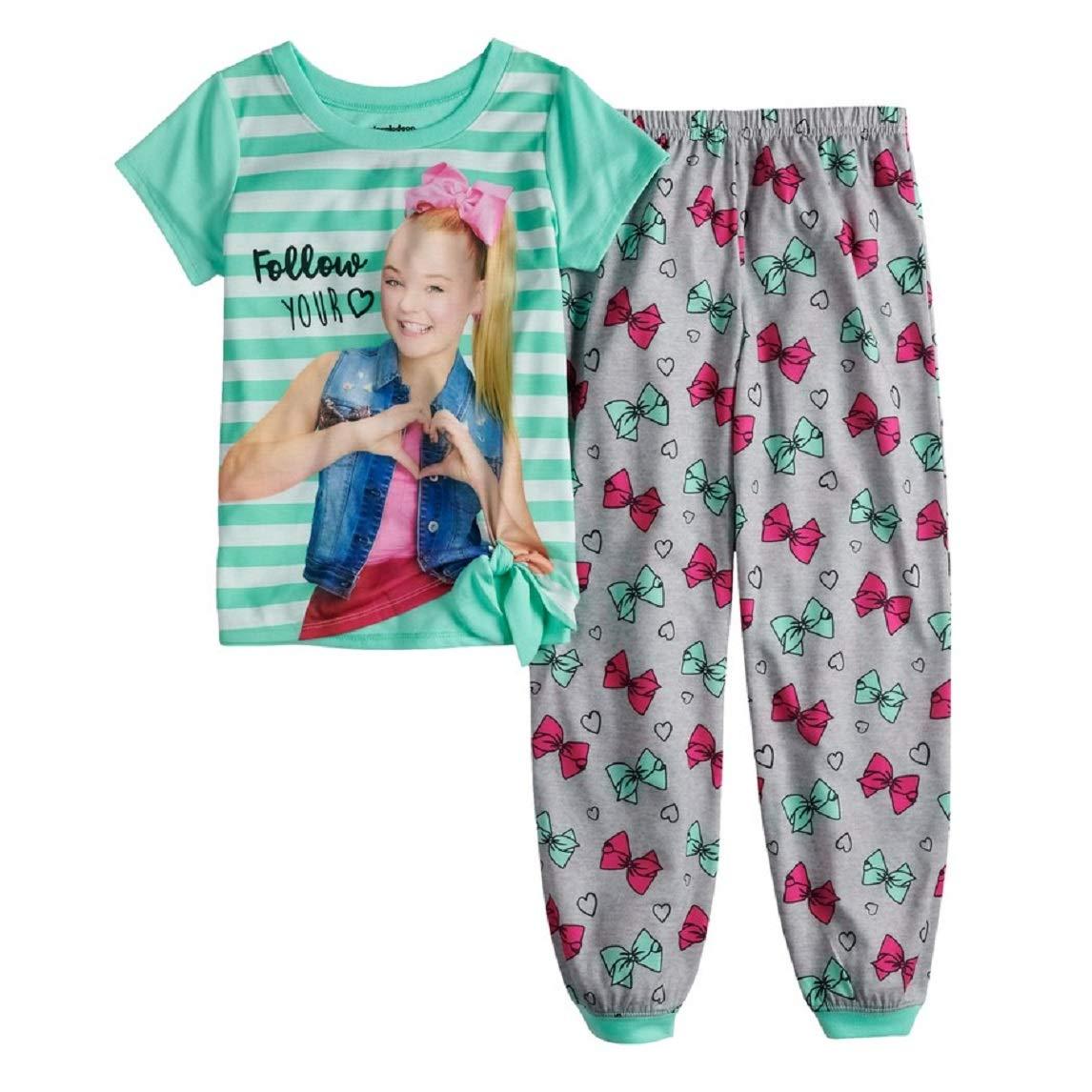 AME Girls JoJo Siwa Top /& Bottoms Pajama Set 6-12