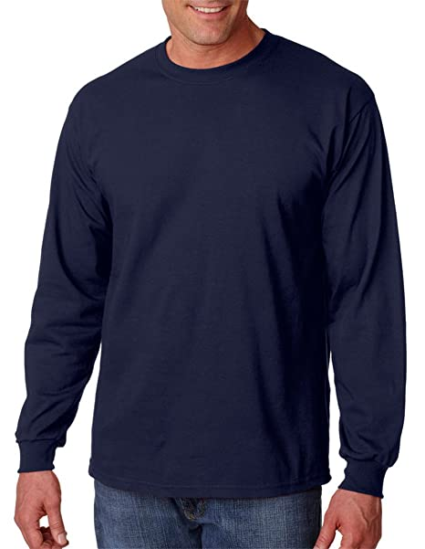 667e2cb8 Image Unavailable. Image not available for. Color: Gildan 6.1 oz Ultra  Cotton Heavyweight Long Sleeve Tee