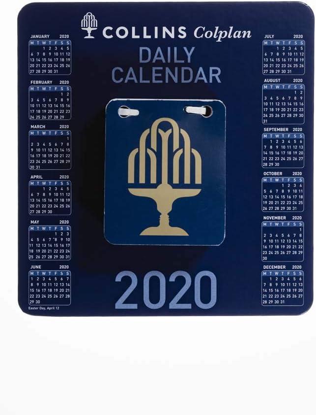 Calendario giornaliero Collins Colplan CDBC 2020