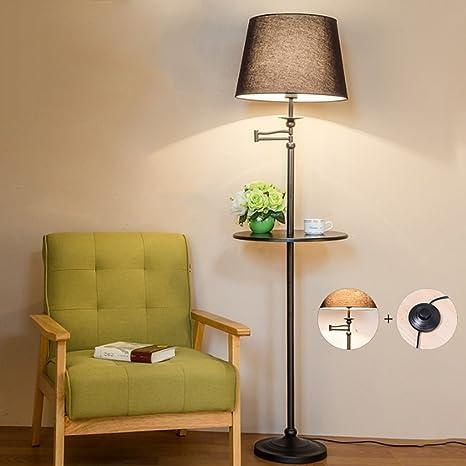 Lámpara de pie Creativa de la Mesa de Centro, Interruptor de ...