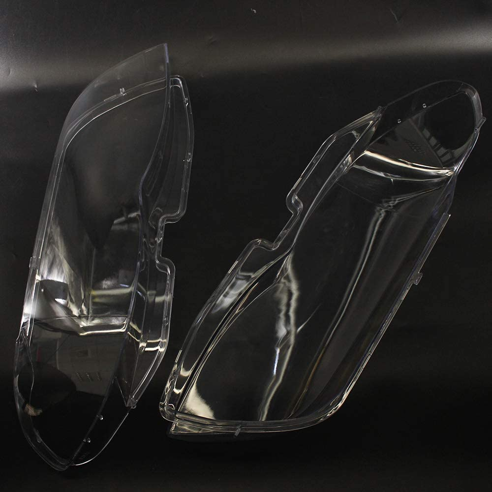 Naliovker 1 Juego Faro de Coche Luz de Cabeza Lente de la L/áMpara Cubierta de Lente Transparente para X5 E53 2004-2006 Cubierta de Lente de Faro