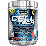 MuscleTech Cell Tech Hyperbuild Post Workout Recovery Drink Powder with Creatine and BCAA Aminos, ICY Rocket Freeze, 30 Servings (482g)