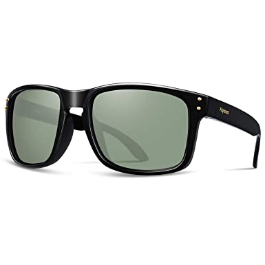 40e6c4536d3 Alpment HD Polarized Sunglasses Lightweight fit Cycling Fishing Golf Skiing  Tennis Mountain Biking