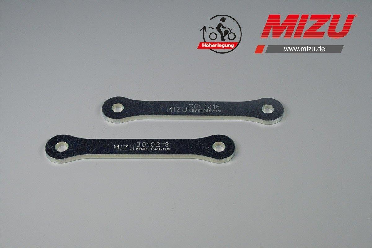 MIZU Heckhö herlegung fü r Kawasaki GPZ 500 S, Yamaha TDM 900