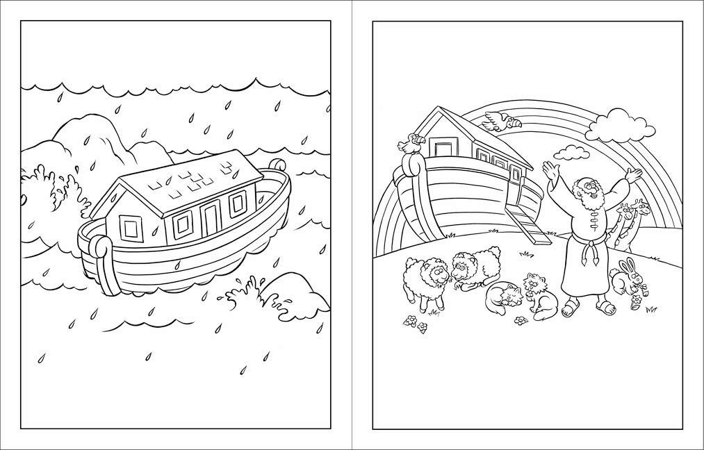 The Beginner's Bible Coloring Book: Zondervan: Amazon.com: Books