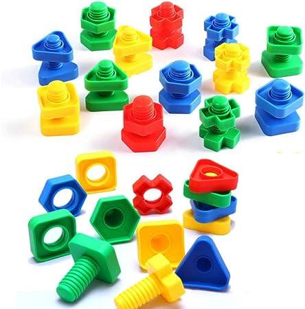 Marke Neue Bauen & Spielen Schrauben Block Spielzeug Für 5 6