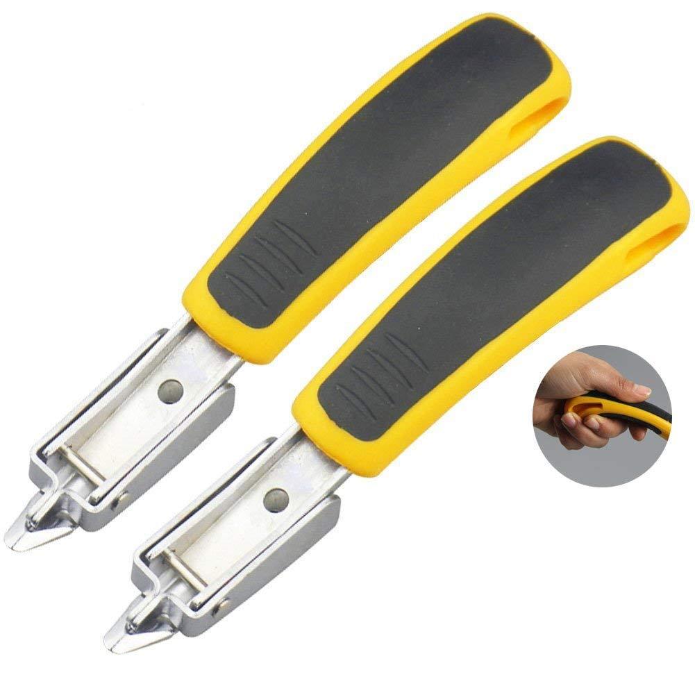Mmei 2 pcs Heavy Duty Staple Remover Tack Lifter