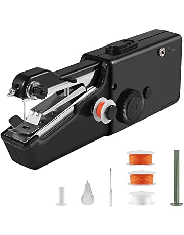 Portable Sewing Machine, Mini Cordless Handheld Electric Sewing Machine, Quick Handy Stitch Tool for