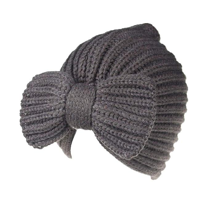 Vrtur Männer Damen Ausgebeult Warm Einfarbiges Häkeln Winter Wolle