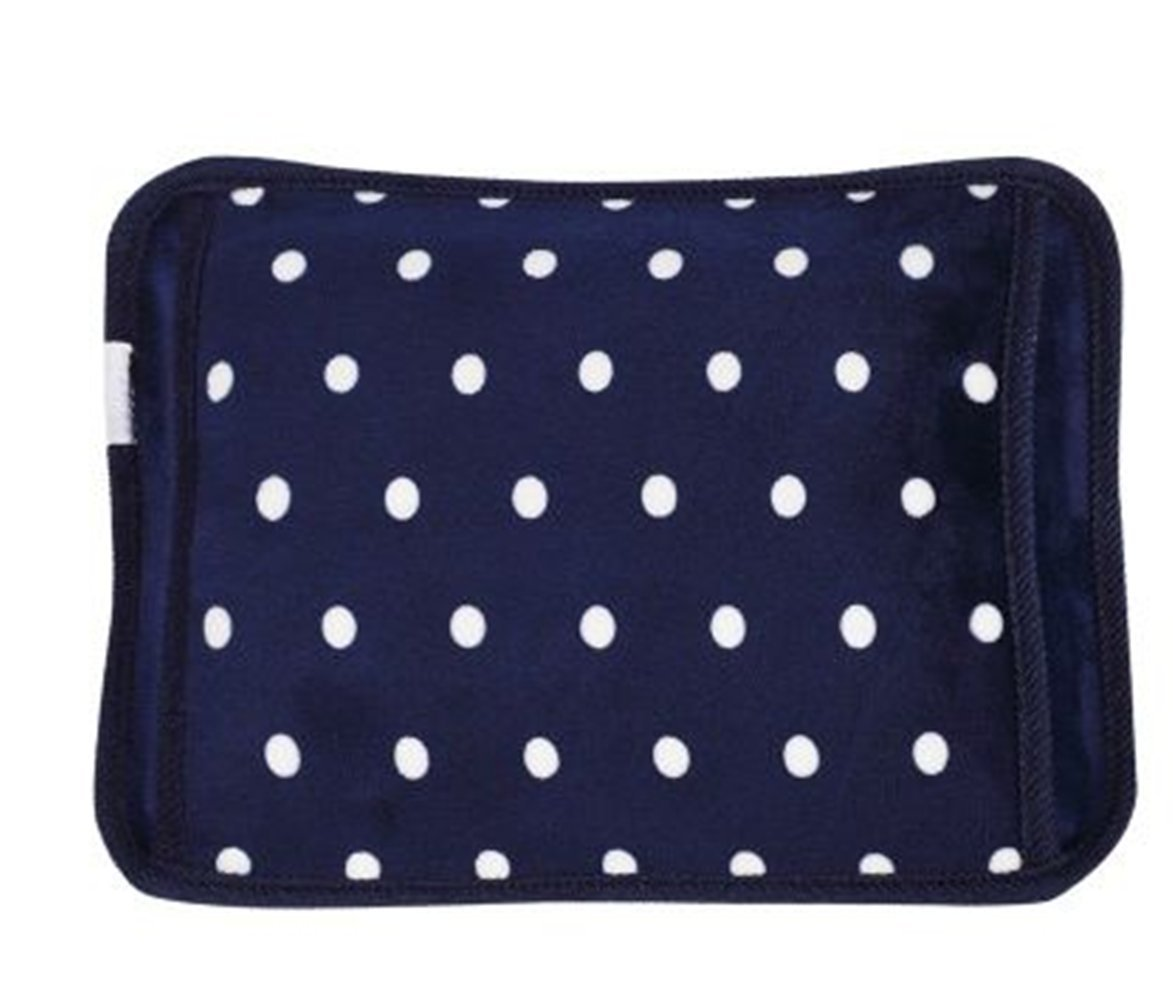 Hot Water Bottle, MyyType Hot Water Bottle Keep Warm and Relieve Pain.(Blue)