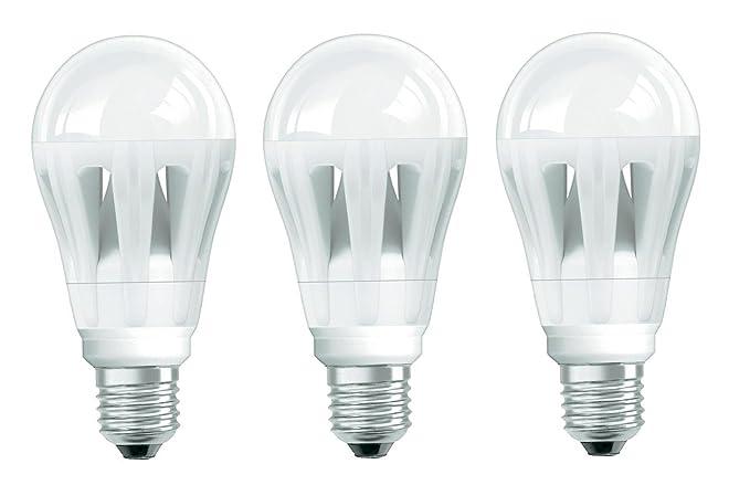 3 unidades Bombilla LED Bombilla OSRAM LED Superstar Classic A 12 W equivalente a 50 W ...
