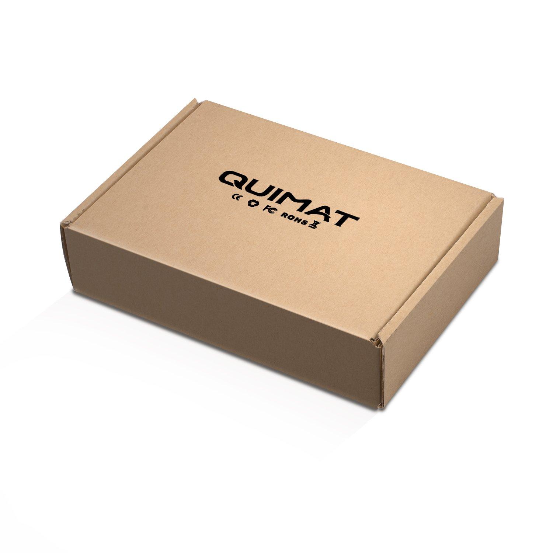 Quimat 5PCS 4mm Cables Silicone Banana Plug to Crocodile Alligator Clip Set 1000V 15A Multimeter Probe Test Lead Wire Cable 1m//39.4 P2100 QP2100