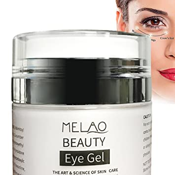 Amazon.com: Misyo Organics Crema de gel para ojos para ...