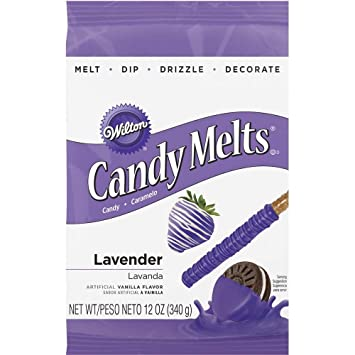 Amazon Wilton 1911 1358 Lavender Candy Melts 12 Ounce Kitchen