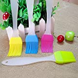 WeiMay Professional Kitchen Silicone Pastry Oil Butter Basting Brushes Cooking Tool for Barbecue/Cooking/Baking - Essential Bakeware Equipment - Random Color