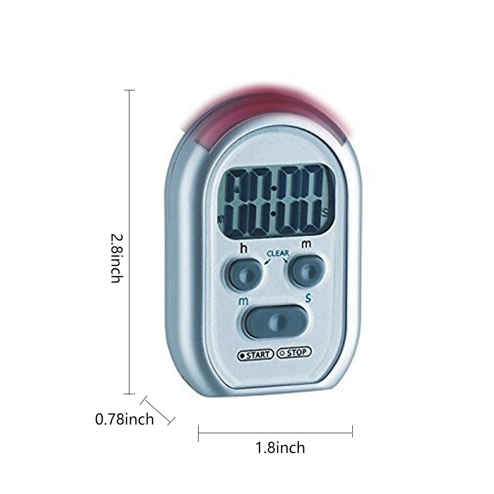 Amazon.com: x-wlang 3-in-1 Alerts timer 1013 with vibration, beep ...