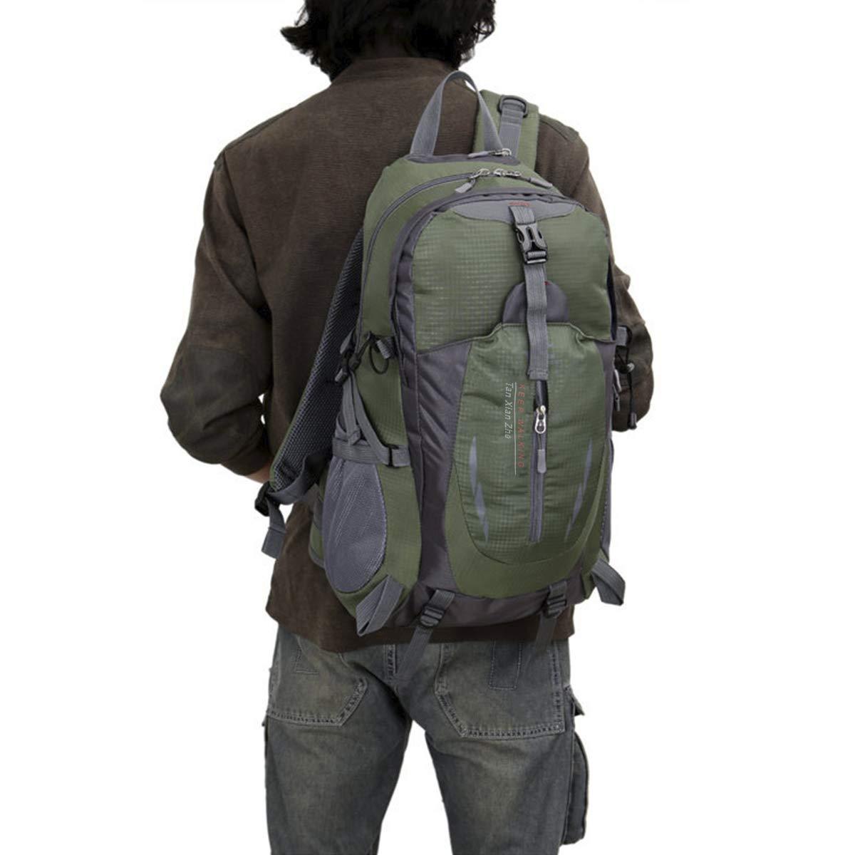 Geila De plein air Sport Imperm/éable 40L Randonn/ée Camping Daypack Bagage Sac /à dos