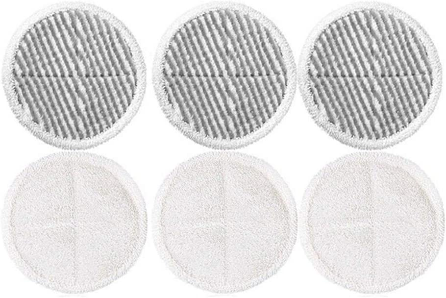 eoocvt 6pcs 8.6 inch Replacement Mop Pads Fit for Bissell Spinwave 2039 Series 2039A 2124