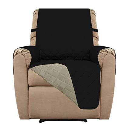 Easy Going Recliner Sofa Covers Recliner Slipcovers Reversible Quilted Furniture Protector Water Resistant Anti Slip Couch Shield With Elastic