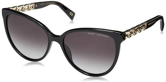 45d1b752729 Amazon.com  Marc Jacobs Women s Marc 333 S Black Dark Grey Gradient ...