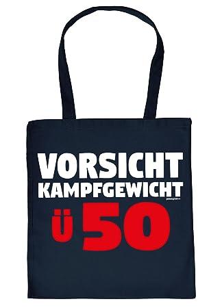 Geschenk 50 Geburtstag Coole Geschenktasche 50 Vorsicht