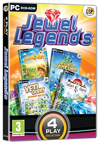 4 Play Collection - Jewel Legends (PC DVD) (UK IMPORT)