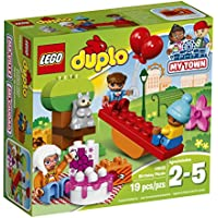 LEGO DUPLO My Town Birthday Party Toys for Toddlers