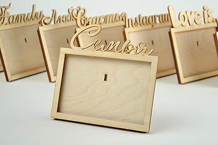 Portaretrato para fotos artesanal figura para decorar decoracion de interior