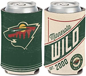 WinCraft NHL Minnesota Wild 12 oz. 2-Sided Retro Can Cooler
