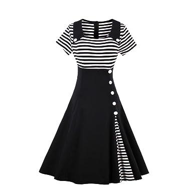 6652f954523cf VERNASSA Women s 40s 50s 60s Fancy Dresses